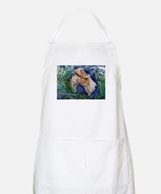 Fox Terrier in Blue Apron