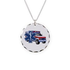EMS Ambulance Necklace