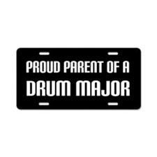 Proud Parent Drum Major License Plate