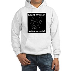 Scott Walker makes me smile! Hoodie