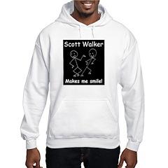 Scott Walker makes me smile! Hoodie