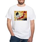 Japan motorcycle AROUND JAPAN White T-Shirt
