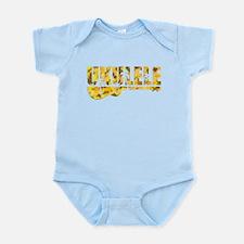 hawaiian uke Infant Bodysuit