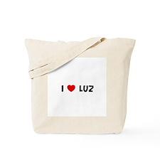 I * Luz Tote Bag