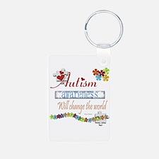 Autism Awareness Will Change Keychains