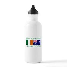 Irish Australian flags Water Bottle