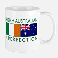 Irish Australian flags Mug
