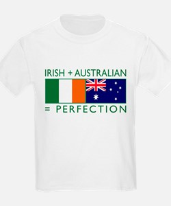 Irish Australian flags T-Shirt