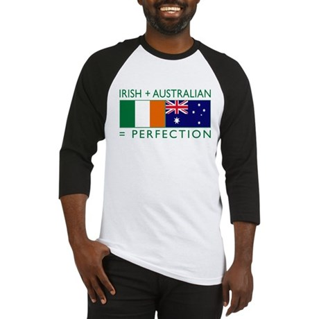 Irish Australian flags Baseball Jersey