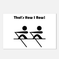 That's How I Row! Postcards (Package of 8)
