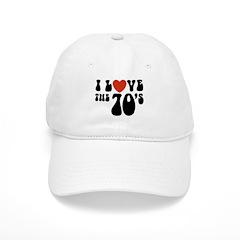 I Love the 70's Cap