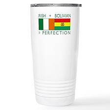 Irish Bolivian flags Thermos Mug