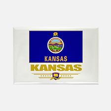 Kansas Pride Rectangle Magnet