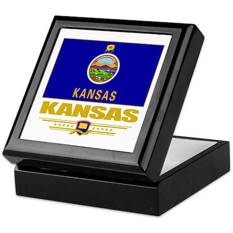 Kansas Pride Keepsake Box
