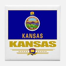 Kansas Pride Tile Coaster