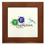 Young Friends of the Forest Framed Tile