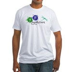 Young Friends of the Forest Fitted T-Shirt