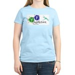 Young Friends of the Forest Women's Pink T-Shirt