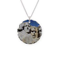 Mount Rushmore Photo Montage Necklace