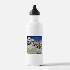 Mount Rushmore Photo Montage Water Bottle