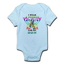 I Wear A Puzzle for my Son Infant Bodysuit