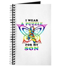 I Wear A Puzzle for my Son Journal