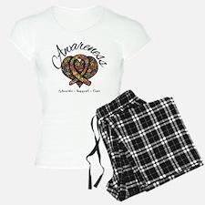 Autism Mosaic Heart Pajamas