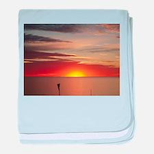 elph Hallett Cove,S.A. sunset baby blanket