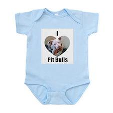 PIT BULL LOVER  Infant Creeper