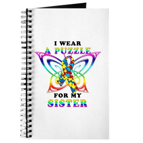 I Wear A Puzzle for my Sister Journal