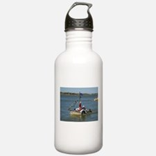 Elph little wooden boat Water Bottle