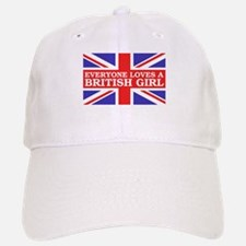 Everyone Loves a British Girl Baseball Baseball Cap