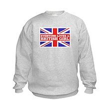 Everyone Loves a British Girl Sweatshirt