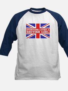 Everyone Loves a British Girl Tee