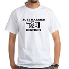 Just Married Destiney Shirt