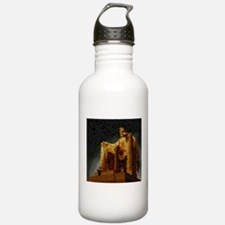 Lincoln Memorial Mosaic Water Bottle