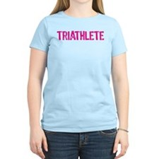 Triathlete - pink T-Shirt