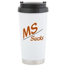 MS Sucks Travel Mug