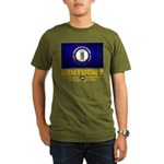 Kentucky Pride Organic Men's T-Shirt (dark)