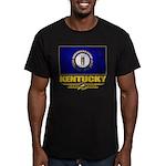 Kentucky Pride Men's Fitted T-Shirt (dark)