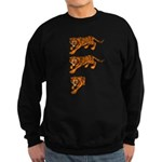 Two and a Half Tigers Sweatshirt (dark)