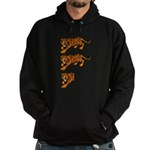 Two and a Half Tigers Hoodie (dark)