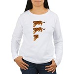 Two and a Half Tigers Women's Long Sleeve T-Shirt