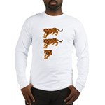 Two and a Half Tigers Long Sleeve T-Shirt