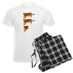 Two and a Half Tigers Men's Light Pajamas
