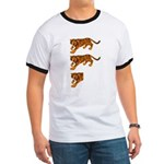Two and a Half Tigers Ringer T
