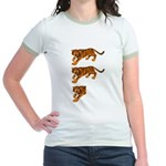 Two and a Half Tigers Jr. Ringer T-Shirt