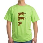 Two and a Half Tigers Green T-Shirt