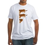 Two and a Half Tigers Fitted T-Shirt