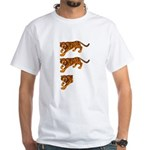 Two and a Half Tigers White T-Shirt